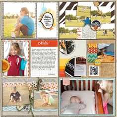 week 31 project life by gracielou using Amy Martin Designs Helper Grids v2