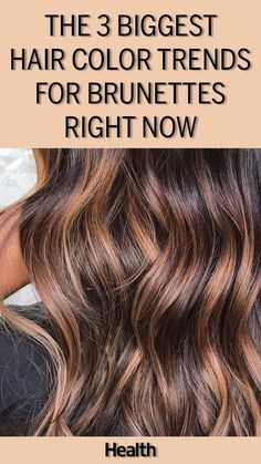 Blondes aren't the only ones having fun this season. Check out three ways brunettes can refresh their look with pops of color and subtle highlights.