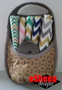 Nancy Zieman Best Nest Organizer Basket crafted by eSheep Designs