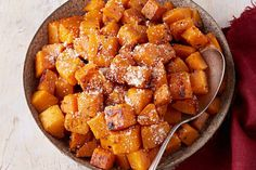 Everybody loves roasted vegetables, but this idea takes the roasting process out of the oven.  We'll show you how cook this butternut squash side dish perfectly right on top of the stove.  You're going to love this Pan-Roasted Butternut Squash recipe!