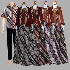 7 Best Gamis Batik Sarimbit Images On Pinterest Prada Batik Solo