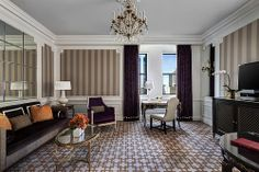 The St. Regis New York—Madison Suite Living Room