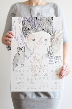 massive calendar round-up; via decor8