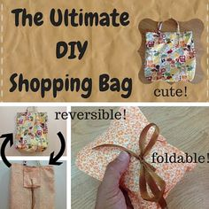 Featured on Tuesdays with a Twist 9/15/15 by Keeping It Real: http://keepingitrreal.blogspot.com.es/2015/09/the-ultimate-diy-shopping-bag-made-easy.html