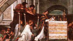 La Catedral de Orvieto en Italia custodia uno de los milagros Eucarísticos más importantes en la historia de la Iglesia y que motivó al Papa Urbano IV a instituir la Solemnidad del Corpus Christi.