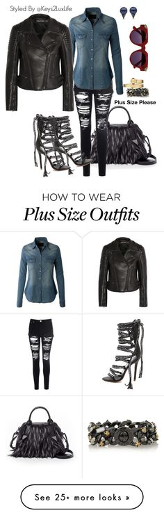 """""""Plus Size Please"""" by keys2luxlife on Polyvore featuring Botkier, Glamorous, LE3NO, Tom Ford, Monika Chiang, House of Holland, Marc by Marc Jacobs and Movado"""