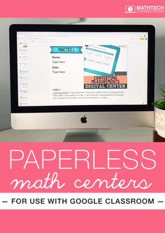 Why You Should Use Digital Math Centers Classroom Hacks, Math Classroom, Classroom Activities, Google Classroom Tutorial, Space Games For Kids, Summer School Activities, Technology Lessons, Learning Goals, Third Grade Math