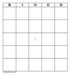 Print-Bingo.com - a Free Bingo Card Generator by Perceptus    http://www.bingocardapp.com/  - another bingo card maker, but had no image to pin