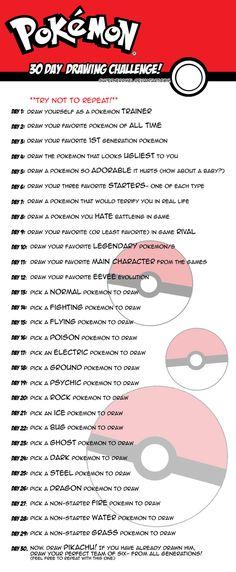30 Day Challenge by SuperNerdMel.deviantart.com on @deviantART