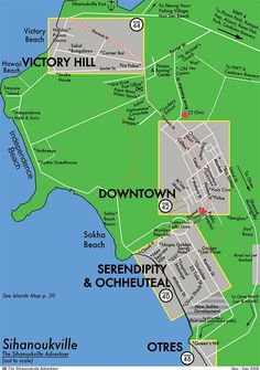 Not a Map of SihanoukVille