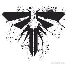 Firefly symbol from the last of us t-shirt design
