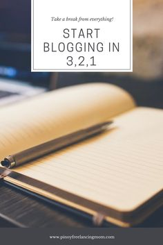 How to Start a Blog - Pinoy Freelancing Mom
