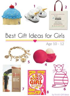Gift Ideas for 10-12 Years Old Tween Girls