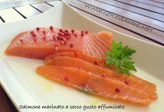 Golosando...serenamente!: Salmone marinato a secco: gusto affumicato!!