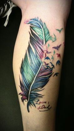A tattoo fit for royalty, a colorful peacock makes a vivid and beautiful tattoo design for the arms, back or rib cage. Description from colorful-feather-tattoo-1823.auditionmobile.biz. I searched for this on bing.com/images