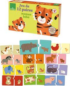 Vilac drevené puzzle zvieratka