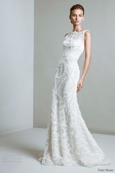 tony ward bridal 2014 muse wedding dress