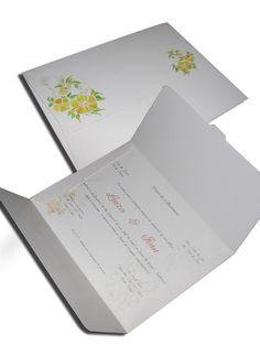 Convite de Casamento Clássico 05