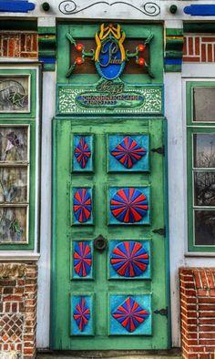 Door Estebrügge, Jork, Lower Saxony, Germany