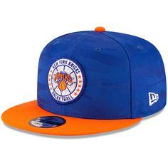 69335ec2e9b Men s New York Knicks New Era Blue Orange 2018 Tip-Off Series Two
