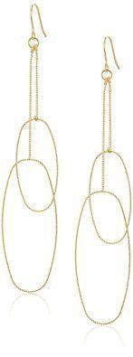 Diamond Cut Double Hoop Earrings