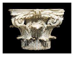 A ROMAN MARBLE COMPOSITE CAPITAL -  CIRCA 2ND-3RD CENTURY A.D.