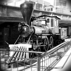 Steam Locomotive at Underground Atlanta by zx81basic, via Flickr