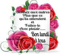 Image : Bonjour, Bon Lundi et Bonne Semaine image #6341 - BonnesImages