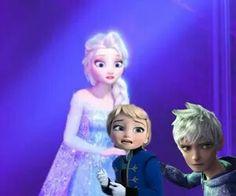 Jack Frost And Elsa, Frozen Elsa And Anna, Frozen Queen, Sailor Princess, Little Princess, Jelsa, Funny Disney Memes, Disney Quotes, Elsa Baby