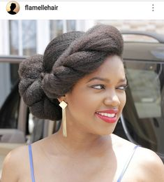 Hair Ideas: 43 Stunning Prom Hair Ideas for Natural Afro Hairstyles, African Hairstyles, Protective Hairstyles, Cool Hairstyles, Protective Styles, Natural Hair Wedding, Natural Hair Updo, Natural Hair Styles, Wedding Hair