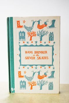 Vintage Illustrated Children's Books - Antique Books, Classic Novel, 1950s Illustration via Etsy.