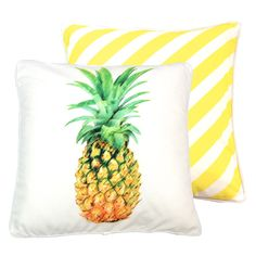 Pineapple Digital Print Cushion  Cover $44 by Wilderness Collection on POP.COM.AU   #shopping #design #popaustralia #palmtrees #decal #homewares #homedecor #pineapple #cushion