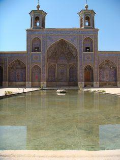 The Nasīr al-Mulk Mosque is a traditional mosque in Shiraz, Iran