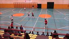 Partido de futbol sala cadete entre Rivas futsal C y Oroquieta Espinillo
