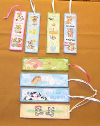 Free Standing In-the-Hoop Bookmarks Machine Embroidery Design Collection
