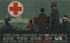 Vintage Red Cross Posters from WWI