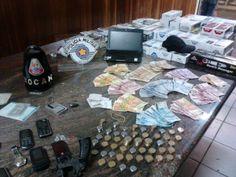 Dupla é presa em flagrante após roubar um bar na cidade de Itu
