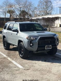 Your family's car SUVs, which we know for their sportier appearance, fall into the category of pickup trucks. The SUV, … 2017 Toyota 4runner, Toyota Tacoma, Lifted 4runner, Toyota Vehicles, Lifted Ford, Toyota Tundra, Toyota Celica, Four Runner, Toyota Girl