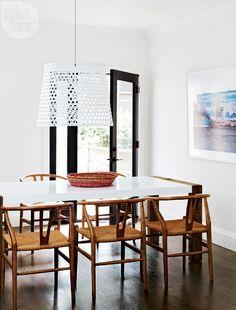 House tour: Beach-chic dining room {PHOTO: Michael Graydon}