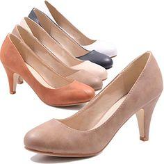 Jumex Damen Keilabsatz Pumps Sommer Schuhe in Kunstleder - http://on-line-kaufen.de/jumex/jumex-damen-keilabsatz-pumps-sommer-schuhe-in