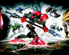 Super Smash Bros: Bionicle; Rahkshi.!