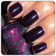 #WetnWild #nails #nailpolish #swatches .  Instagram: accnpl