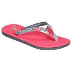 e2c12533da3d Jordan Flip - Girls  Grade School - Dynamic Pink Metallic Platinum White