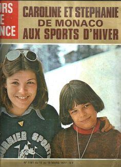 Jours de France N°1161 Caroline et Stephanie De Monaco aux Sports dHiver 1977