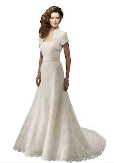 Luxeblue Strapless Lace Wedding Dress With Sash And Bolero