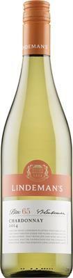 Lindemans Bin 65 Chardonnay 2014. South Eastern Australia. 9,99 €  Pirteä ja hedelmäinen: Kuiva, hapokas, sitruksinen, trooppisen hedelmäinen, kevyen herukkainen, yrttinen