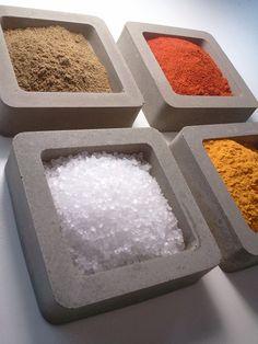 Spice Bowl | Concrete product design | Concrete | Interior | Inspiration | design | Beton design | Betonlook | www.eurocol.com