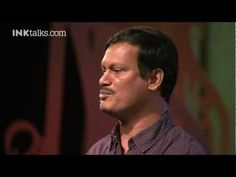 A. Mrugananthan: 'The first man to wear a sanitary napkin.'       http://inktalks.com In under 12 minutes, listen to the fascinating journey of a workshop helper - from being rejected by the same women whose lives he wanted to change - to now gearing up to create jobs for a million women.    About Arunachalam Murugananthan : http://www.inktalks.com/people/arunachalam-muruganantham