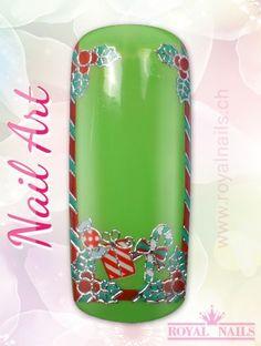 Christmas - Weihnachten Nail Art Design Inspiration Nr. 270 #christmas #weihnachten #santa-claus #nail-art #nailart #winter-holidays