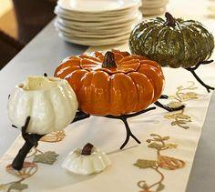 Gourd Serve Bowl Stand #potterybarn